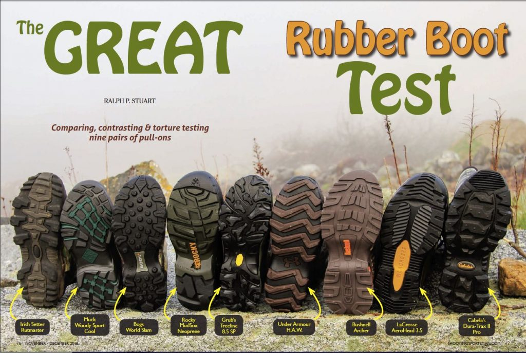 The Great Rubber Boot Test