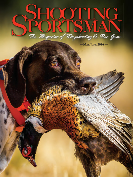 Shooting Sportsman Magazine - May/June 2016 cover