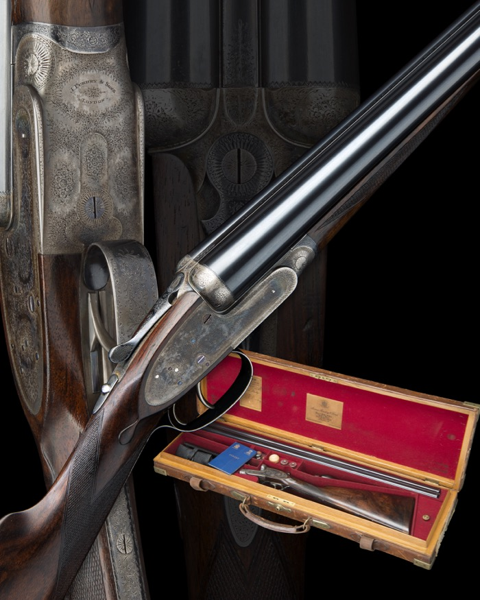 Purdey donated for gunmaker's charity