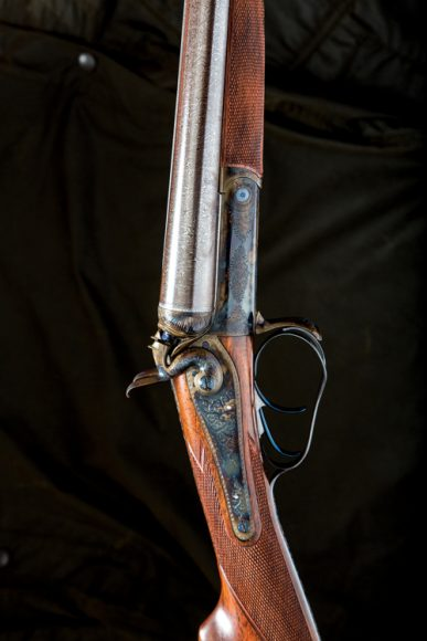 A Thomas Johnson gun, fully restored, photograph