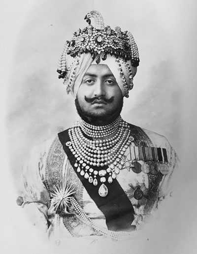 His Highness the Maharaja Sir Bhupindra Singh, ruler of the state of Patiala