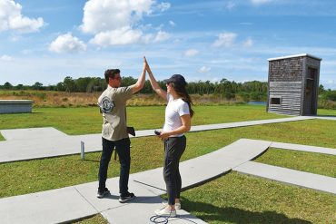 First Shots Clay Targets program