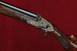 Boss's 1812 Edition: the world's first ambidextrous shotgun.