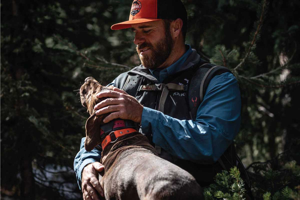 Use consistent commands and reward-based praise to help keep excited dogs on track during the hunt.